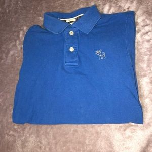 Abercrombie and Fitch Blue Polo